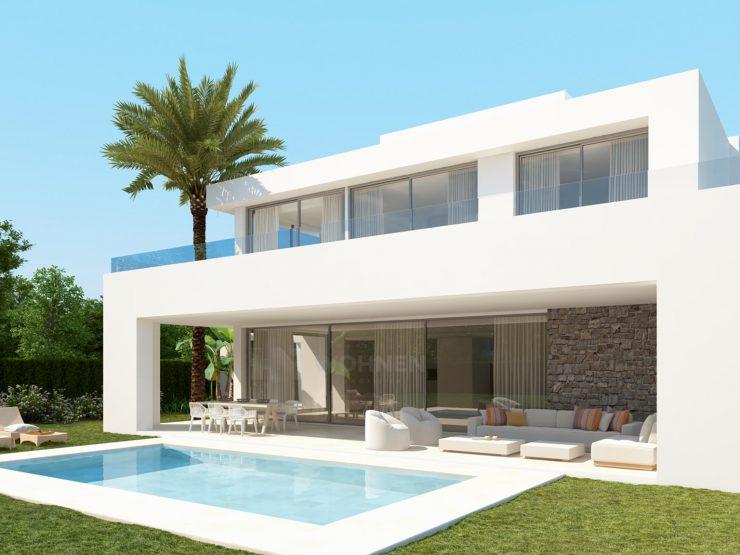 Contemporary design villas with 24 hour security