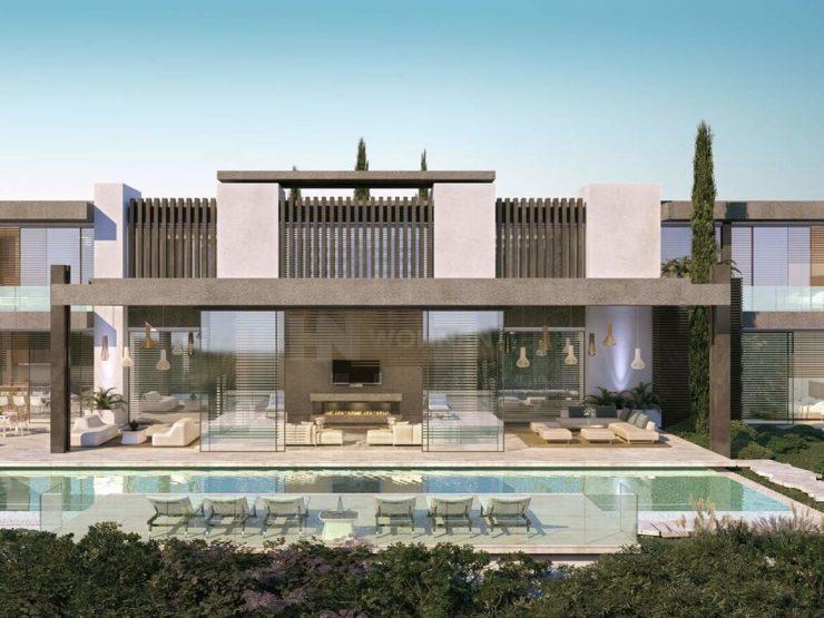 Exclusiv contemporary villas with amazing sea views
