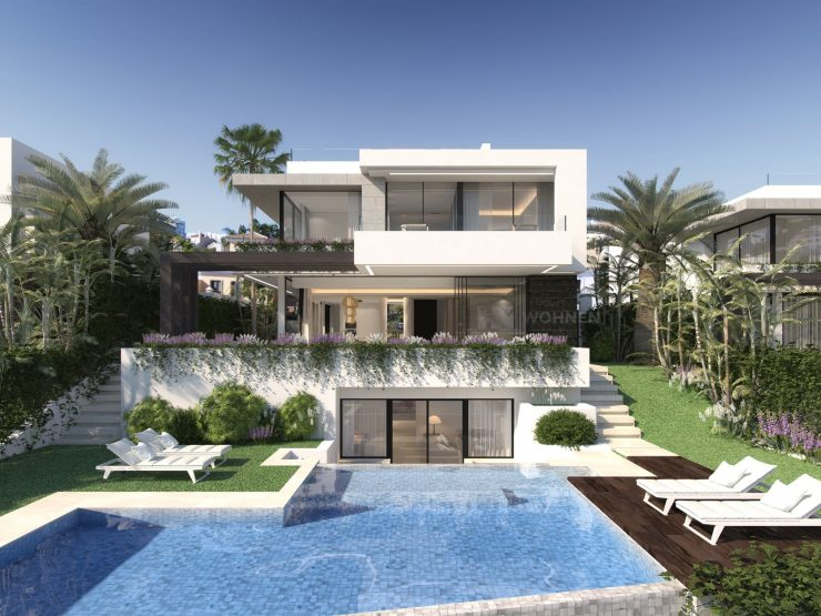 Collection of 10 Villas located in an enviable position in the heart of the New Golden Mile