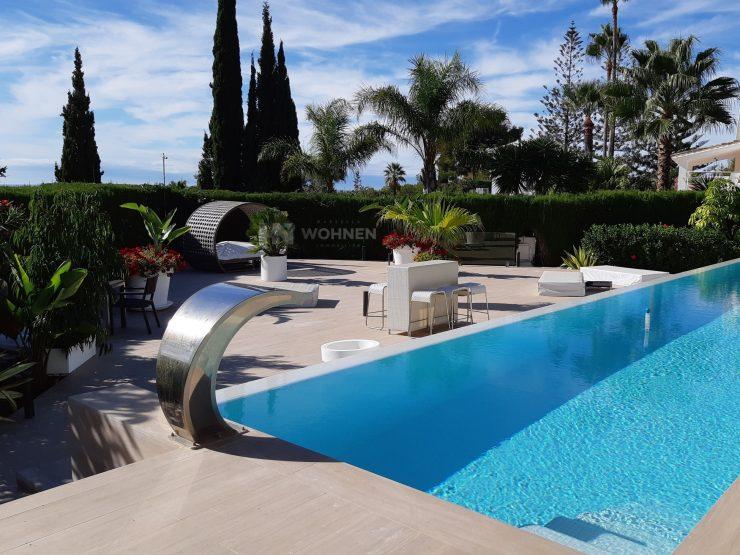 Recently, thoroughly renovated villa in El Rosario with sea views