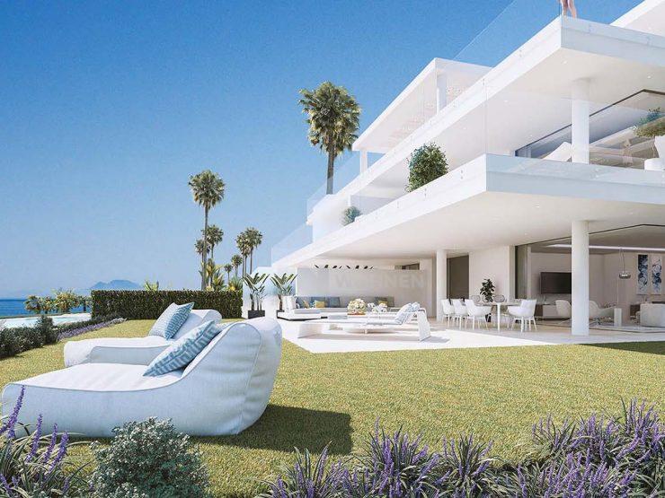 Luxury apartmens Front-line Beach Location