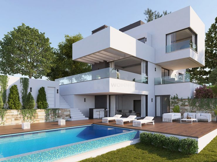 Magnificent villa with incredible see views