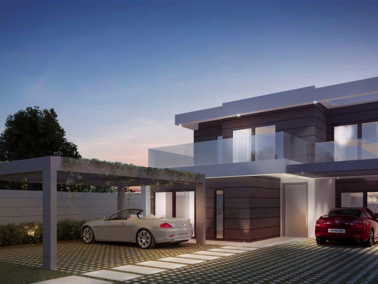 New development of luxury villas in Riviera del Sol