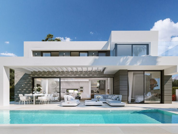 New luxury modern and beautifully styled villas in Cabopino – Marbella