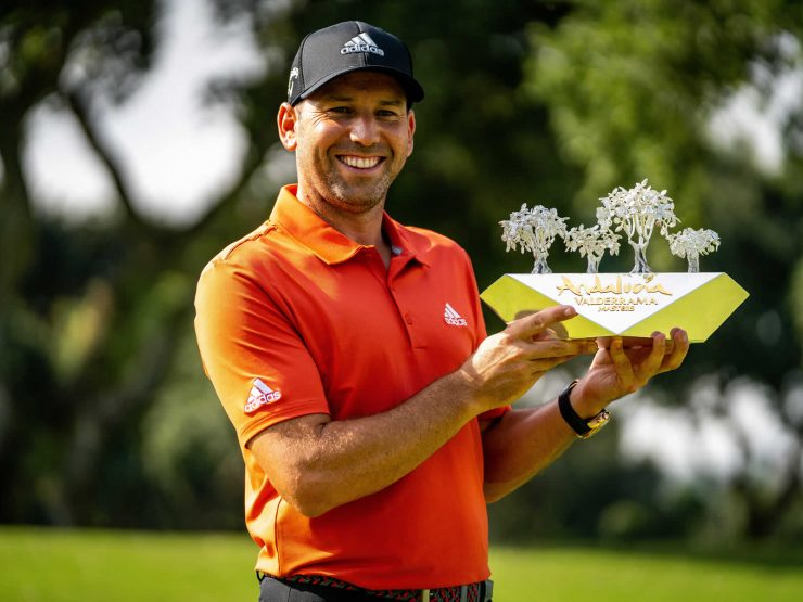 GOLF – Sergio Garcia successfully wrapped up his third Andalucía Valderrama Masters