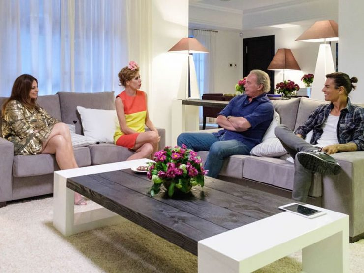 "EVENTS – The villa, in the exclusive Sierra Blanca urbanization, is the setting for the broadcast programs of ""My house is yours"""