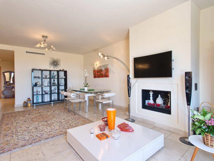 Spacious duplex penthouse with seviews
