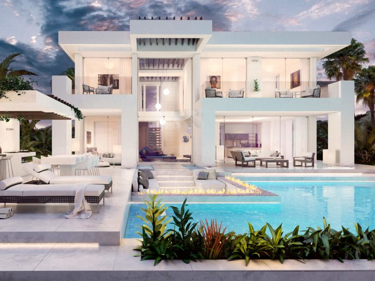 Riviera  is an off plan project of a single villa with a modern and exclusive design