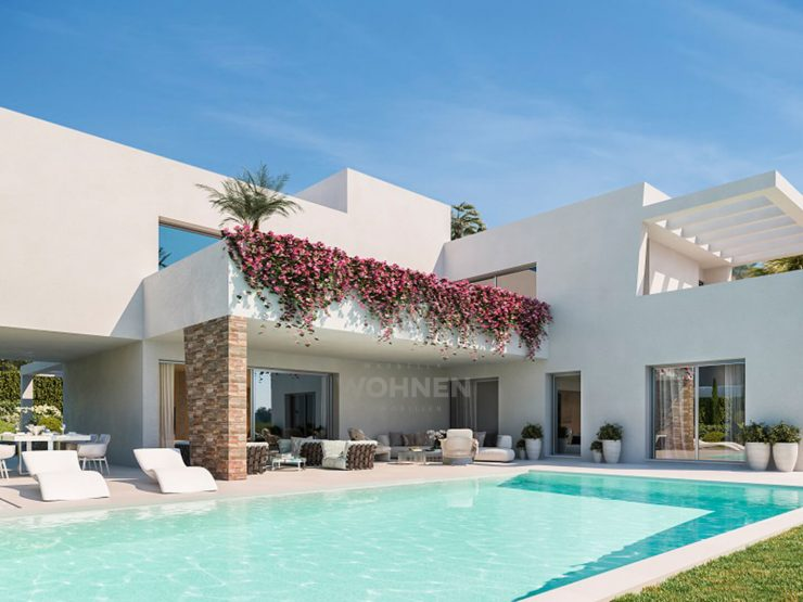 A new and exclusive project of just 3 villas in Atalaya, Estepona