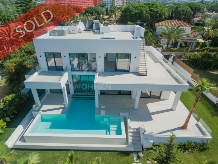 Beautiful modern villa built to the highest quality standards in Marbesa