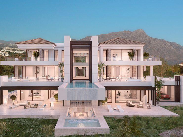 Contemporary Villa with exceptional sea views