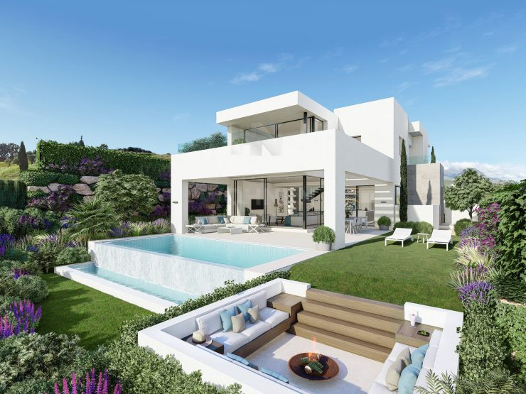 A Concept of living – 10 Luxury villas in the heart of Estepona Golf