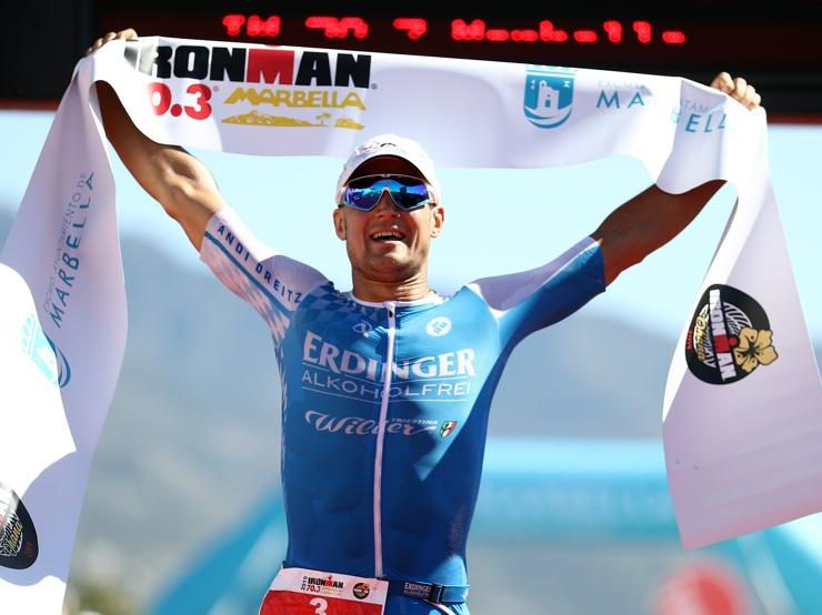 EVENTS – Andreas Dreitz and Laura Philipp conquer the IRONMAN 70.3 Marbella