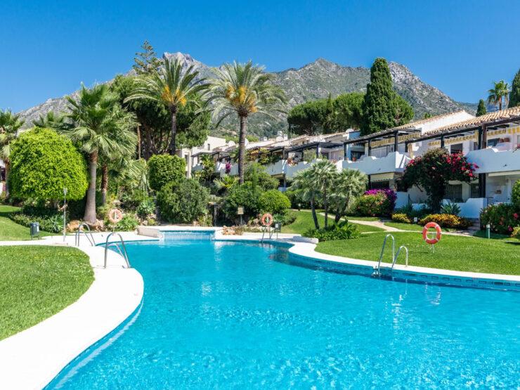 Penthouse near Marbella town in Sierra Blanca