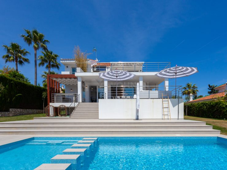 Stunning Beachside villa located at Las Chapas Playa with breathtaking sea views