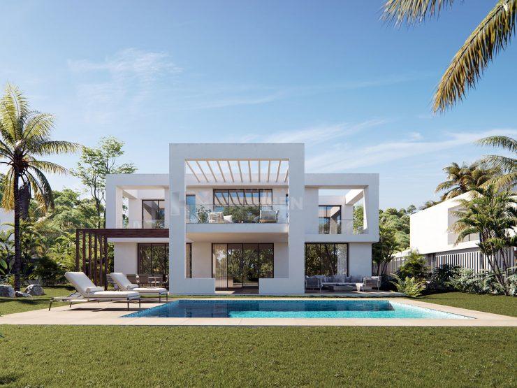 Private Collection a project of 9 boutique exclusive villas in Santa Clara, Marbella