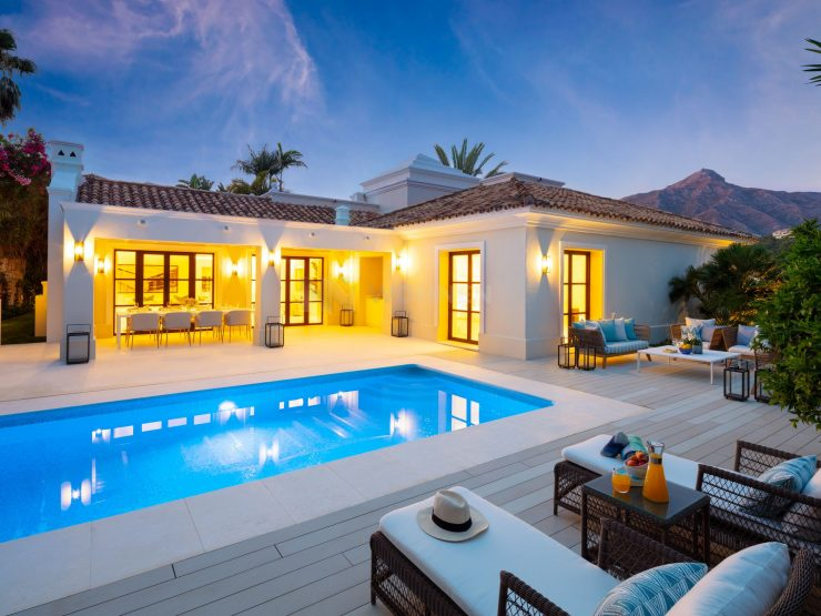 Stunning refurbished, quality and modern villa in Nueva Andalucia, Marbella