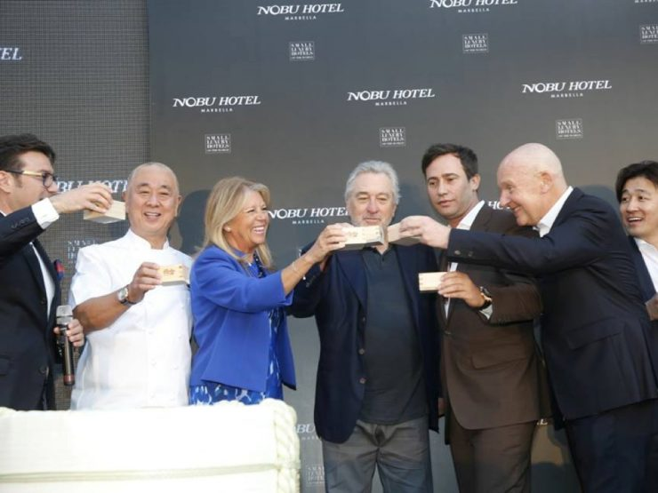 EVENTS – LIFESTYLE – Robert de Niro opens the NOBU HOTEL in MARBELLA
