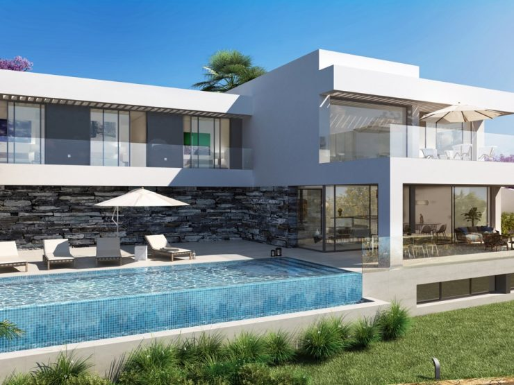 New villas located within the exclusive gated and secure 5-Star Golf Resort of Los Flamingos