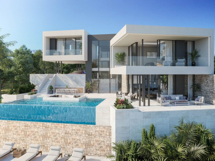 Beautiful modern villa south orientation with infinity pool – La Cala Golf Resort