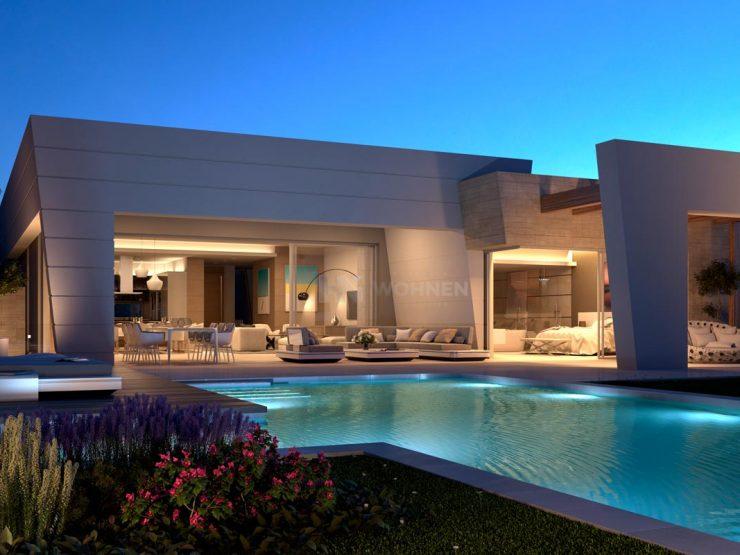 New build villas in Rocio de Nagüeles, Marbella