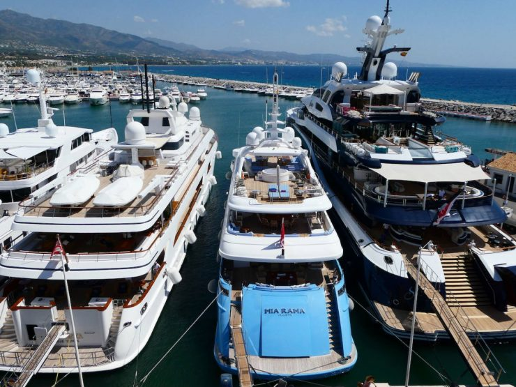 MARBELLA – The most luxurious yachts in the world ends the summer season in Puerto Banús – Marbella