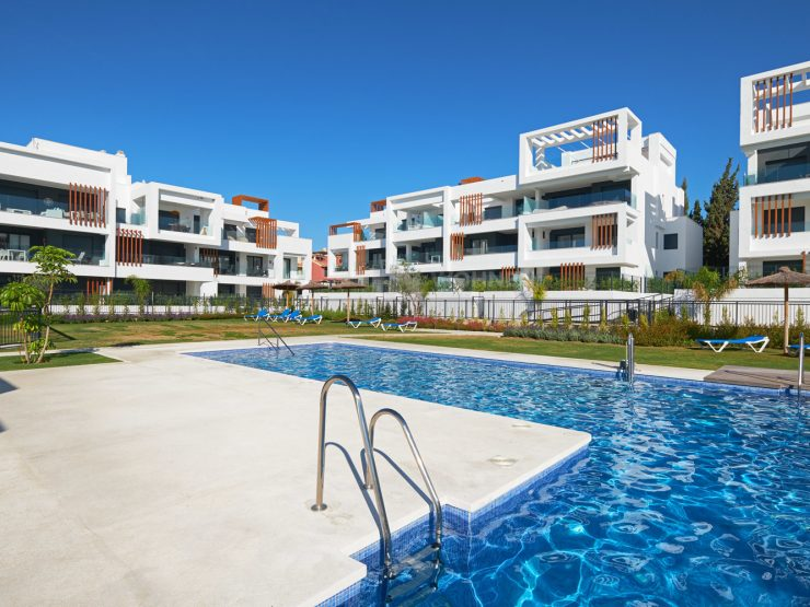 Brand new quality ground floor apartment  in Cancelada