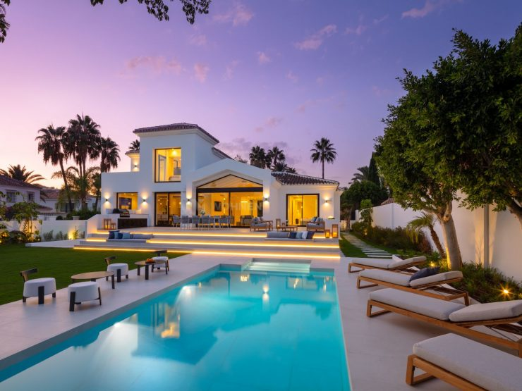 REAL ESTATE – MARBELLA – Property of the Month February 2020 – Beautifully renovated villa in Nueva Andalucia