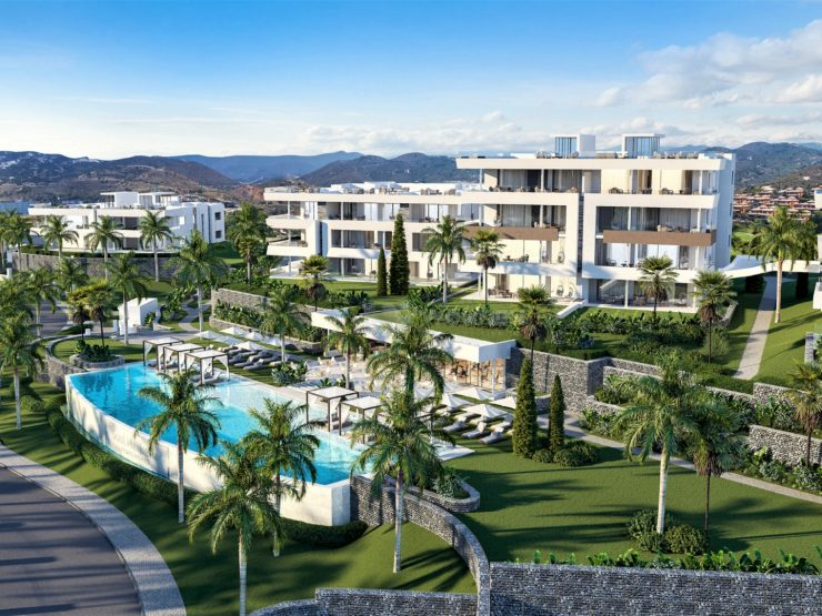 A new project located in Marbella East, on the first line of golf in the Santa Clara