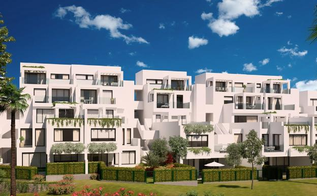 INVESTMENT – The Iberdrola real estate division will build 41 houses in Elviria