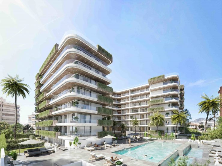 An exceptional residential complex with magnificent apartments and luxurious penthouses