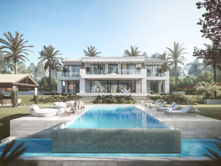 Modern luxury villa with unique and contemporary design – Los Flamingos Golf Resort