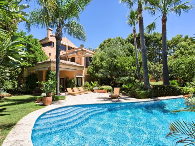 Beautifully quality villa on the Golden Mile Marbella