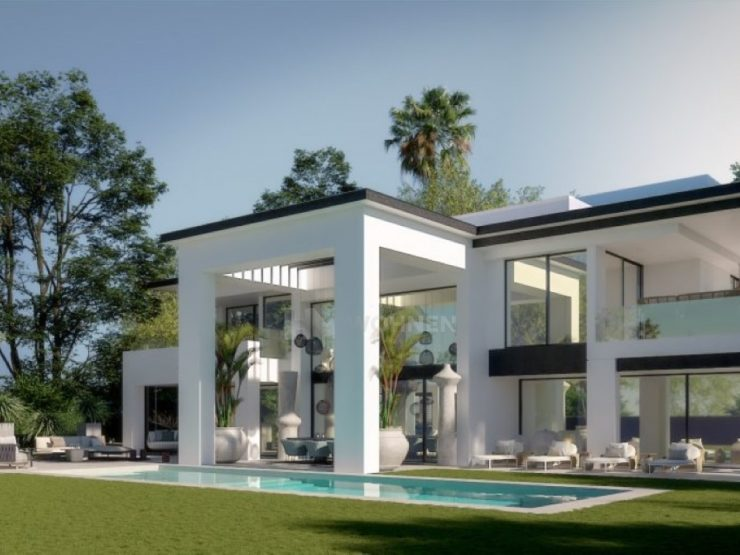 Exclusive project of 3 luxury contemporary style villas