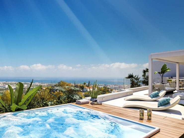 Luxury penthouse of exceptional quality with breathtaking sea views