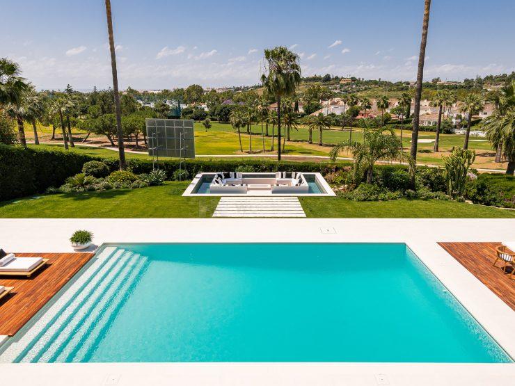 Spectacular modern designer villa in Los Naranjos Golf, Nueva Andalucia, Marbella