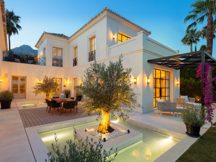 Brand new designer villa Marbella Golden Mile