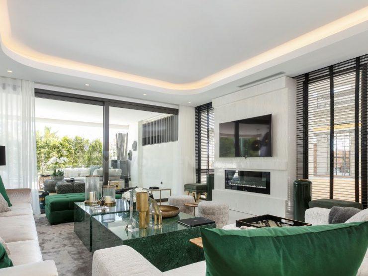 Magnificent 3-4 bedrooms luxury ground floor duplex residence