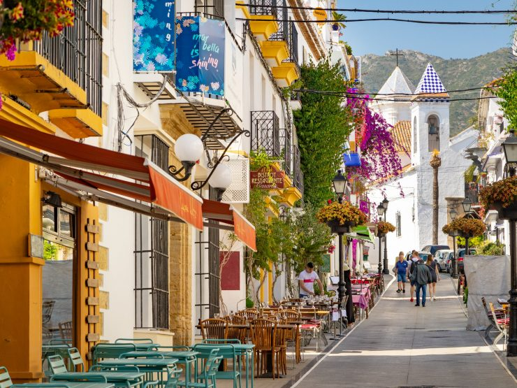 MARBELLA – Marbella's beautiful old town