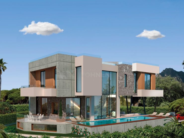 Two strikingly modern villas on the beachside – Marbella Golden Mile