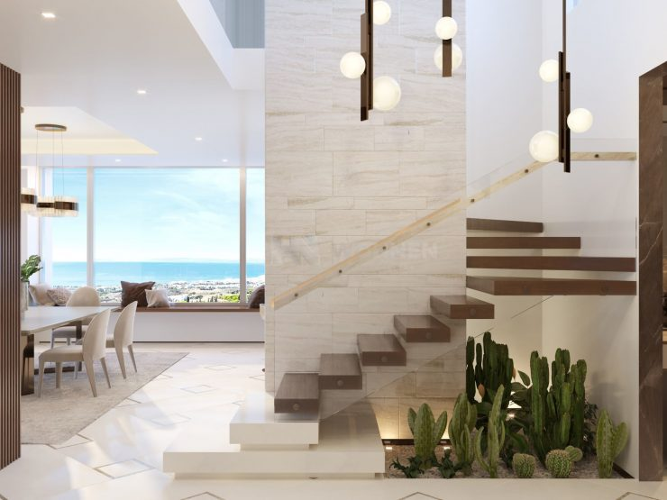 Epic Marbella Fase 2- GRAND PENTHOUSES – Duplex penthouse with panoramic sea views