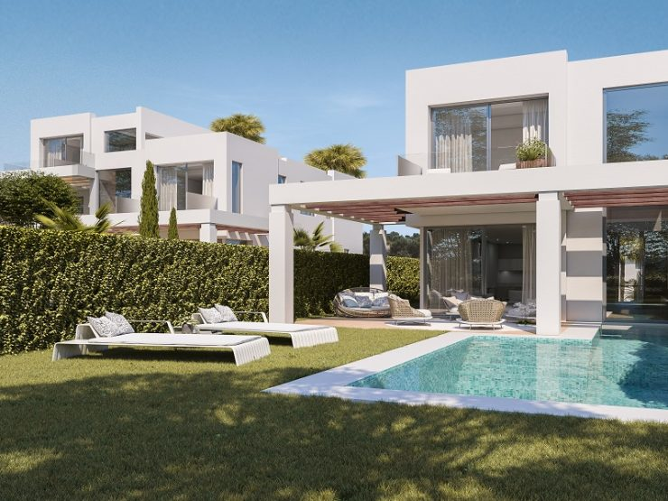 Brand new villas with amazing sea and golf views