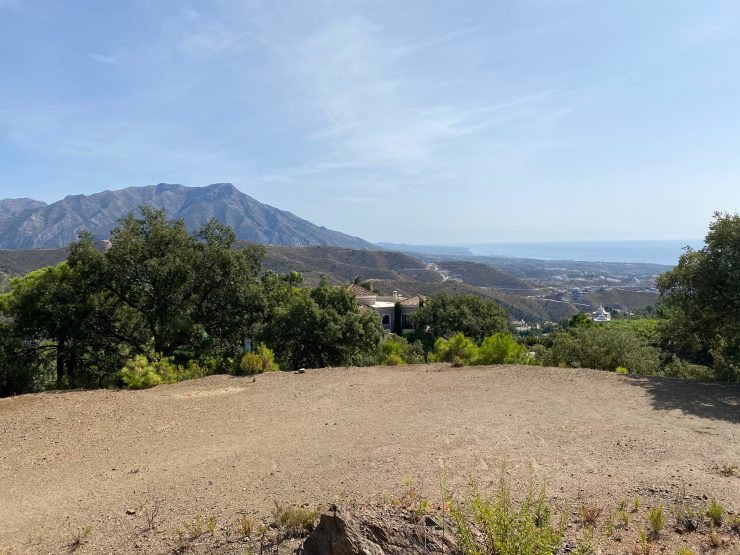 La Zagaleta – Building plot with sea-and mountain views