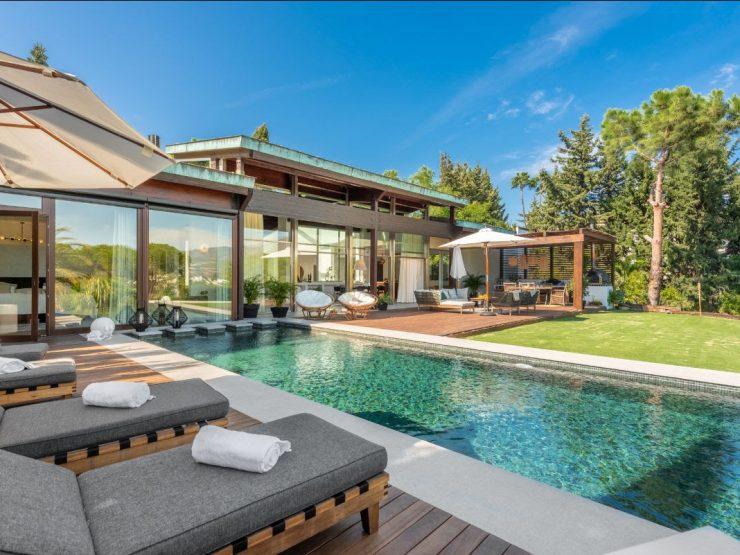 Modern Bali-style villa located in Las Brisas – Nueva Andalucia – Marbella
