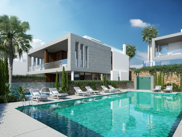 Semi-detached house on the Golden Mile Marbella