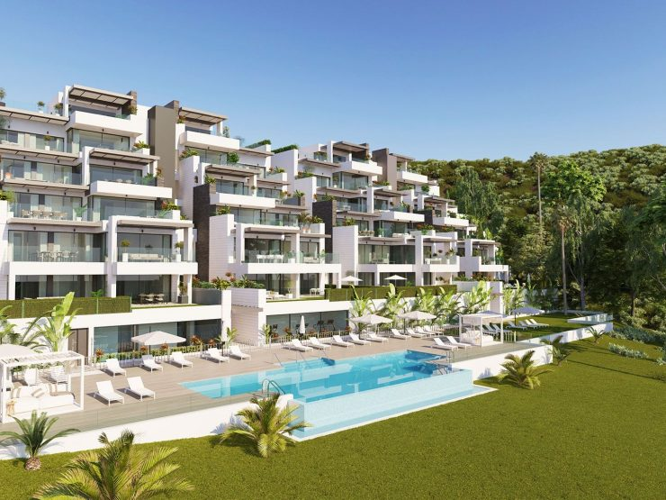 Fabulous apartment with wiews to the golf and sea