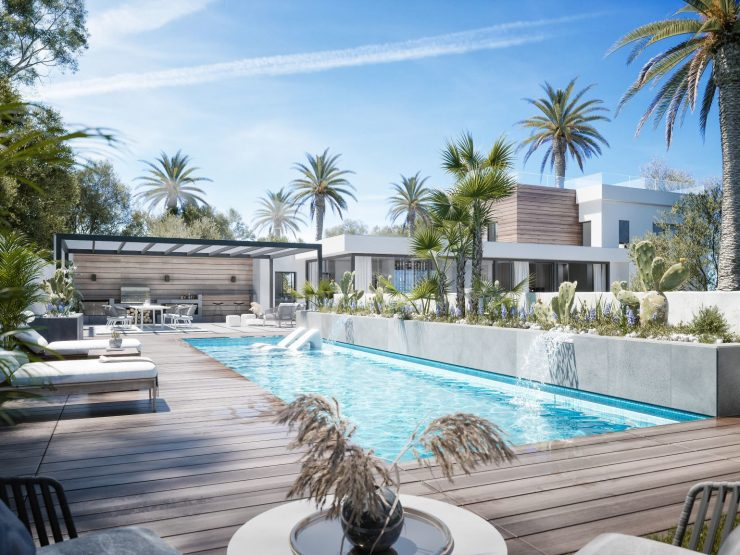 Luxury property in the heart of the Nueva Andalucía golf valley in Marbella