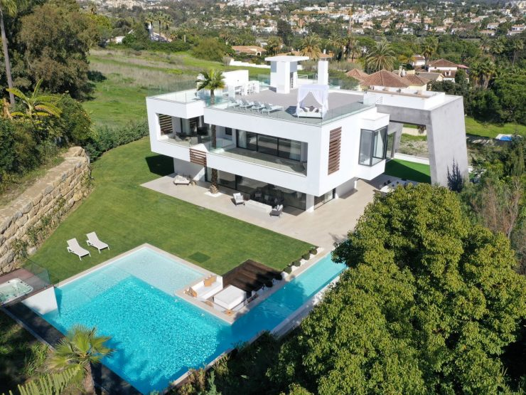 Ultra-modern villa with fantastic views of the La Concha mountain – Marbella