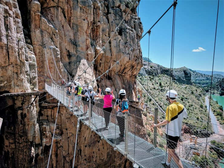 LIFESTYLE – THE KING'S PATH – Caminito del Rey – A via ferrata with impressive walkways – Malaga