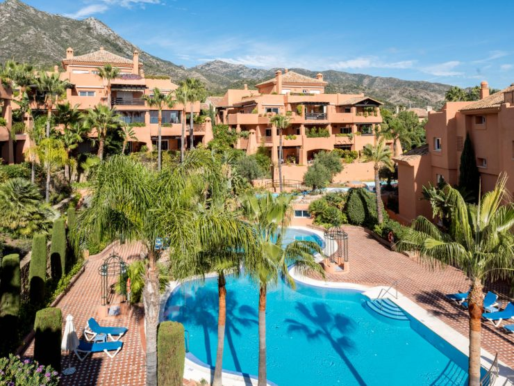 Luxury apartment in Sierra Blanca Marbella